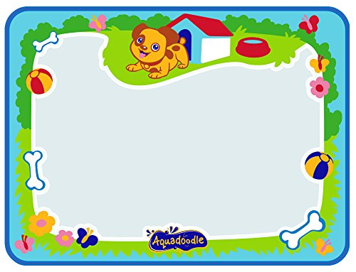 Aquadoodle Little Puppy Water Doodle Mat (48 x 36 cm), Mess Free Colouring Baby Water Mat, Educational Toy for Toddlers and Children, Suitable for Babies Boys and Girls Aged 12 Months+ E72448