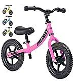 Sawyer - Bicicleta Sin Pedales Ultraligera - Niños 2, 3 y 4 Años (Rosa)
