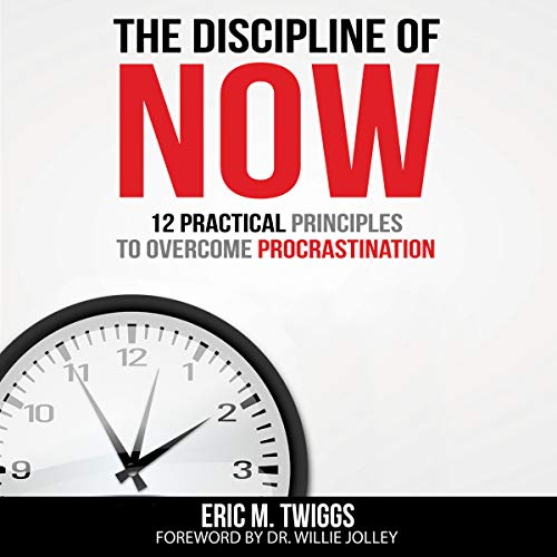 The Discipline of Now audiobook cover art