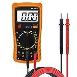 Digital Multimeter, Multimeter Messgeräte Digitales Voltmeter Amperemeter Ohmmeter, Akustischer Durchgangsprüfer Multimeter Voltmeter Widerstand Elektronisches Messgerät Stromprüfer mit LCD-Display