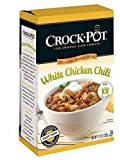 Crock-Pot Delicious Dinners, All Natural White Chicken Chili, Pack of 3