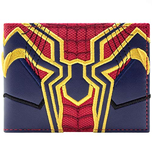 Cartera de Marvel Avengers Spider-Man Infinity War traje Azul