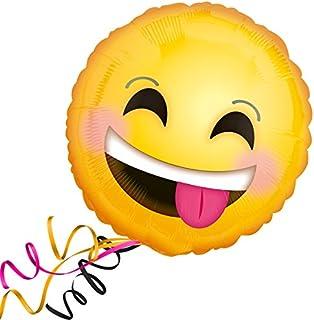 Burton & Burton 4808018 Smiling Emoticons Foil/Mylar Balloon