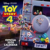 Toy Story 4 2020 Calendar - Official Square Wall...