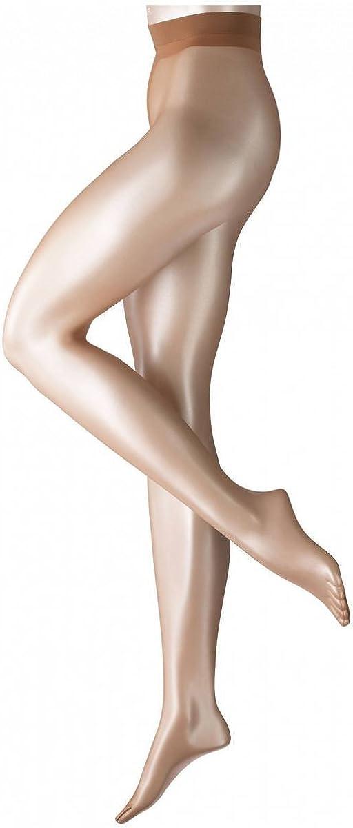 Falke Womens Shelina 12 Denier Ultra-Transparent Shimmer Tights - Sun New