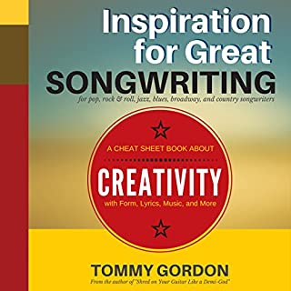 Inspiration for Great Songwriting: For Pop, Rock & Roll, Jazz, Blues, Broadway, and Country Songwriters audiobook cover art