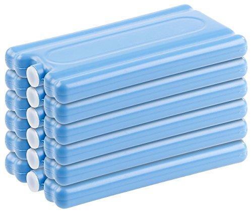 PEARL Kühlakku: 6er-Set Kühlakkus mit je 200 g Füllung, für bis 12 Stunden Kühlung (Eisakku)