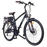 NCM Hamburg E-Bike City Rad, 250W, 36V 13Ah 468Wh Akku, 28