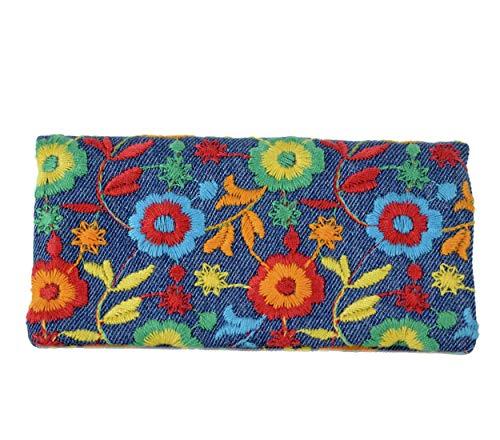 Plan B creaciones Plan B Tabakbeutel YOLO Joy (17,5 x 8,5 cm) mit Eva-Gummi Tasche Bis mit zu 50 Gramm Tabak Mehrfarbig