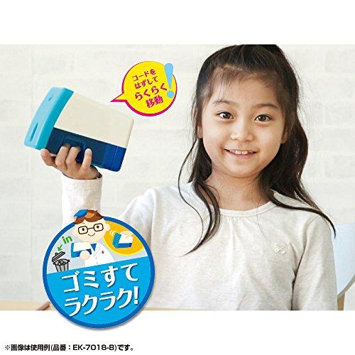 ソニック鉛筆削りイージーピージー電動鉛筆削りブルーEK-7018-B