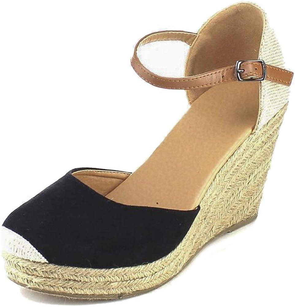 Vimisaoi Women's Summer Cap Max 85% OFF Toe Ranking TOP13 Wedge Sandals Handmade Platform