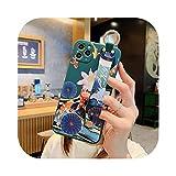 Étui de téléphone avec dragonne pour iPhone 12 Pro 11 Pro Max XR XS Max X 7 8 Plus 12 Mini Cactus...