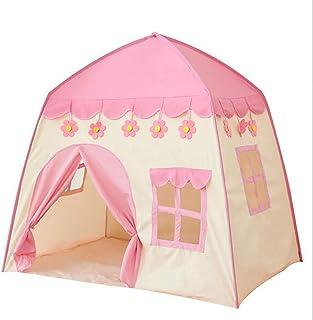 LTJY tipi-tält för barn och spädbarn – barntält med golvmatta – Indoor & Outdoor lektält för pojkar och flickor, present t...