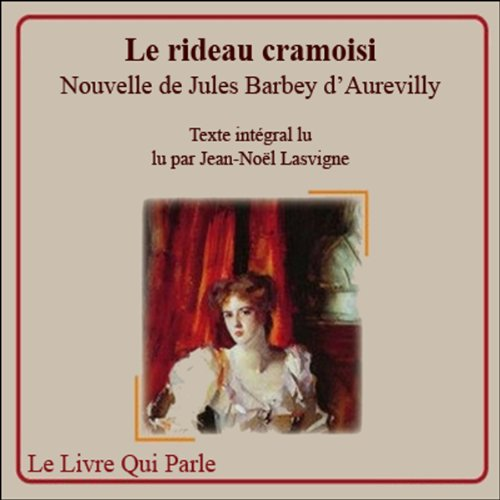 Le rideau cramoisi audiobook cover art