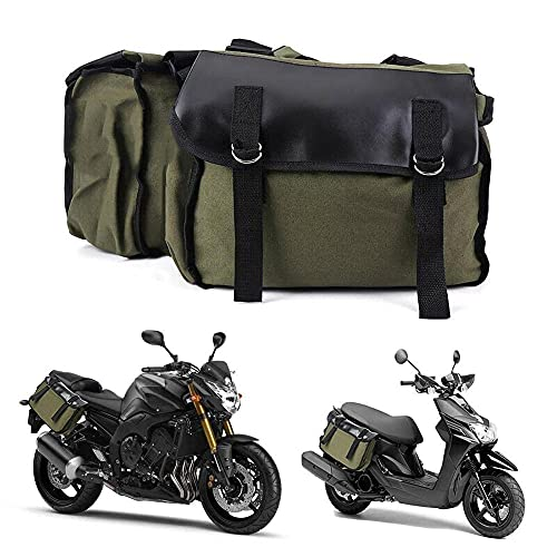 Doble equipaje motocicleta impermeable casco moto bolsas de viaje maleta alforjas y impermeable bolsa de rack mochila lateral embalaje bolsa de sillín