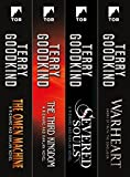 A Sword of Truth Set: Richard and Kahlan: (The Omen Machine, The Third Kingdom, Severed Souls, Warheart)