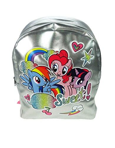 My Little Pony - Neuheit der Rucksack Kinder, 31 cm, 8 L, silbrig
