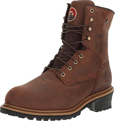 Irish Setter Work Men's Mesabi Steel Toe 83838 Boot, Brown, 12 D US