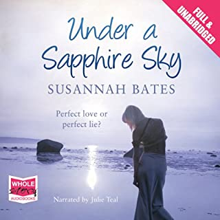 Under a Sapphire Sky audiobook cover art