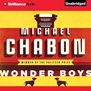Wonder Boys audiobook cover art