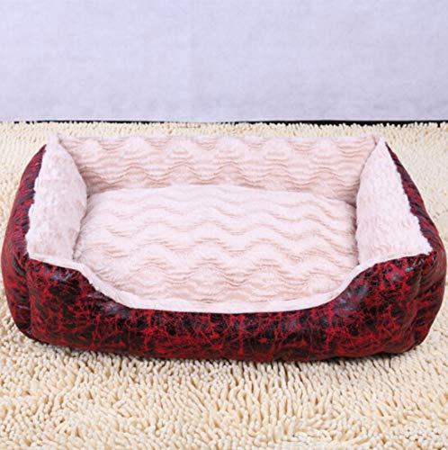 haierr Pet Nest hondenbedkenel Pet Nest Mat hondenmand kattenstrooi 70 * 55 cm (binnen 25 Kg)