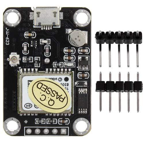 ExcLent Módulo GPS Serial Wg0215-Negro