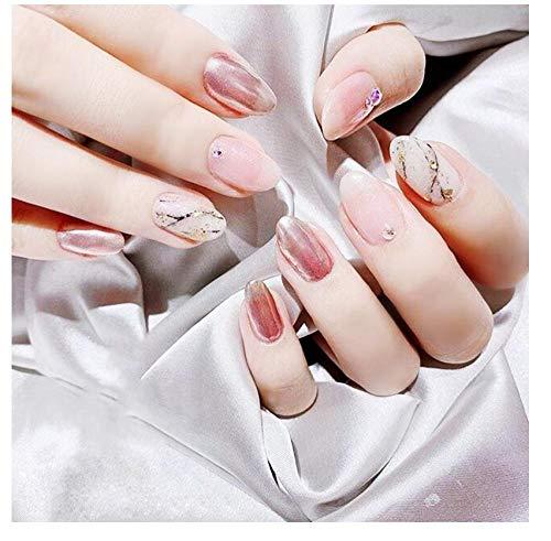 Verwijderbare draagbare nagelstickers, nagels, kunstnagels,-C-S Trompet