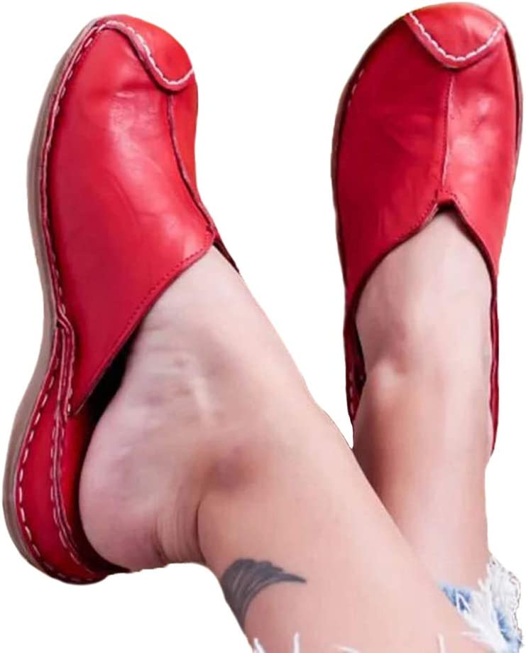 OcaseQ Womens Wedge Mule Sandals Summer Closed Comfy Toe Flat Sl Japan's largest assortment Sale item