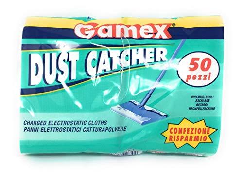 Gamex–Panni elettrostatici catturapolvere–50pezzi–Made in Italy