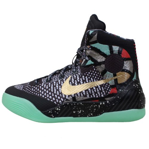 Nike Kobe IX Elite (GS) Maestro Nola Devotion 636602-002 Kids Boys Basketball Shoes (Size 5.5Y)