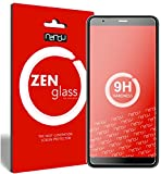 ZenGlass Flexible Glas-Folie kompatibel mit Asus ZenFone Max Plus M1 (ZB570TL) Panzerfolie I Bildschirm-Schutzfolie 9H I (Kleiner Als Das Gewölbte Bildschirm)
