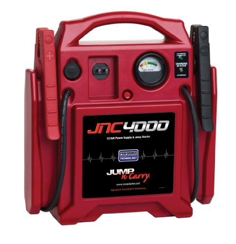 Learn More About Jump-N-Carry JNC4000 1100 Peak Amp 12V Jump Starter