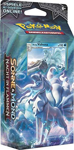 Lively Moments Pokemon Karten Nacht in Flammen Themendeck DE Deutsch Sammelkarten Spielkarten Frostklar - Alola-Vulnona
