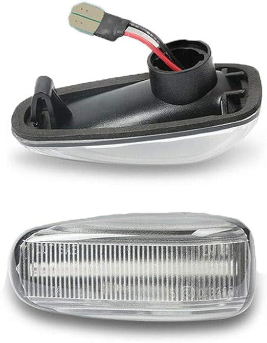 Panthem Seitenmarkierung Blinklicht Indikator Für M Ercedes W202 S202 W210 S210 A208 C208 R170 7231 1 Weiß Auto