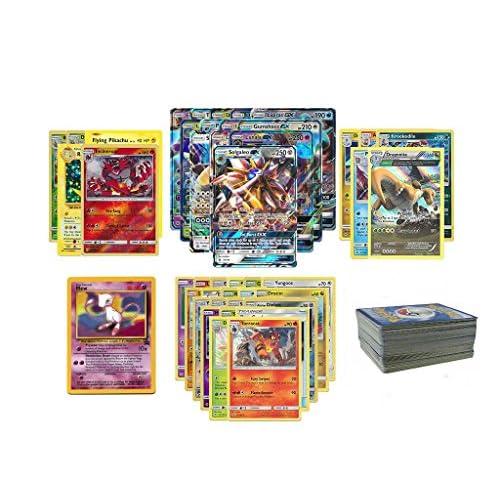 Pokémon Set carte, con Level X O EX + Mew + 8carte rare o ologramma, 30pezzi [Edizione Francese]
