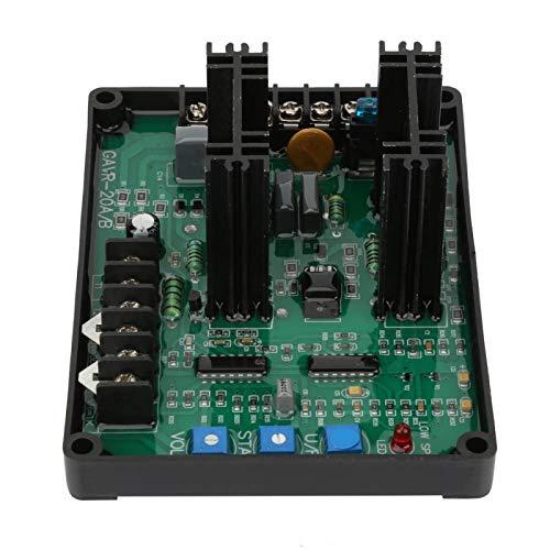 Regulador de voltaje automático, estable con función de máquina en paralelo Grupo electrógeno regulador de voltaje, 20A para monofásico trifásico