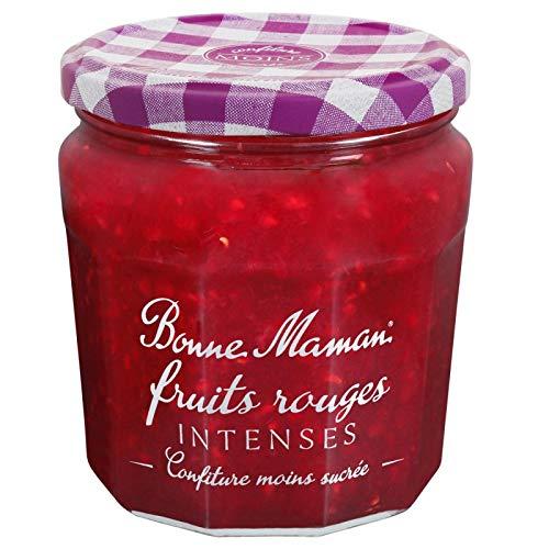 BONNE MAMAN - Confiture Intense Fruits Rouges 335G - Lot De 4