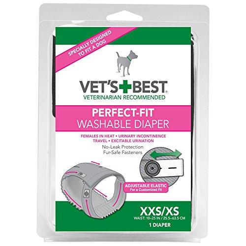 Vet's Best Perfect Fit Wasbare Vrouwelijke Hond Luier