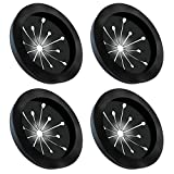 Garbage Disposal Splash Guards Topspeeder Food Waste Disposer Accessories Multi-function Drain Plugs Splash Guards for Whirlaway, Waste King, Sinkmaster and GE Models - Guard Measures (4 pack)