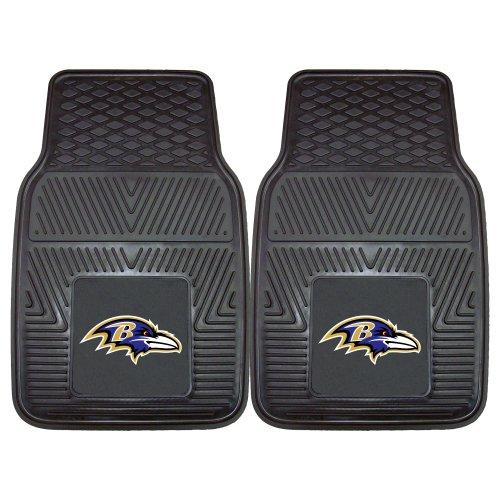 FANMATS - 8755 NFL Baltimore Ravens Vinyl Heavy Duty Car Mat,Black,18'x27'