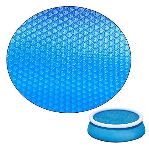 Isolierabdeckung für Schwimmbäder, Solar-Poolabdeckung, rechteckige runde Schwimmbadabdeckung Regensichere Staubabdeckung, für schnell und schnell abbindende Pools, UV-Schutz gegen Sonnenschutz