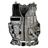 AZB Tactical Vest, Modular Adjustable Light Combat Vest, Breathable Combat Assault Vest Training Vest for Games or Training