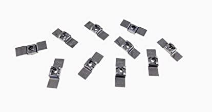 10 Pack 10-32 Floating Cage Nut - Weldable Stamping NR 1032
