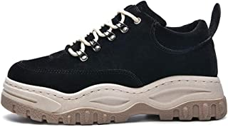 KINDOYO Men's Casual Shoes - Autumn Winter Heightening Lace-up Sports Shoes
