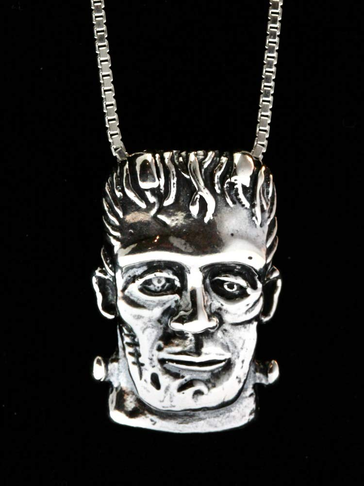 Frankenstein Jewelry Monster Colorado Springs Mall Pendant 2021 spring and summer new Hallo Necklace
