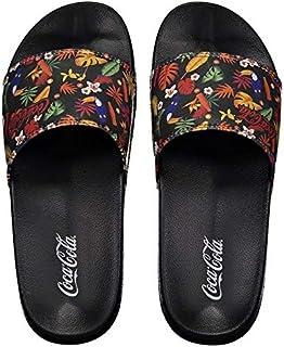 Chinelo Coca Cola Slide Tropicoke Classic Feminino Preto