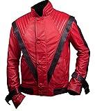 Flesh & Hide F&H Men's Michael Jackson Thriller Jacket 2XL Red