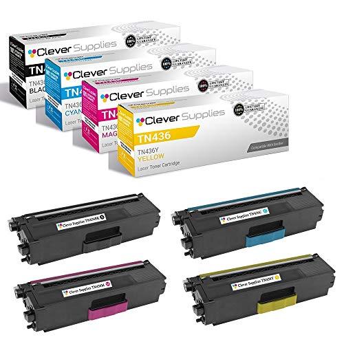 Clever Supplies CS-TN436-4color-set