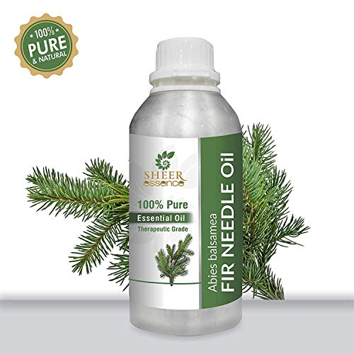 FIR NEEDLE OIL 100% Pure Undiluted Natural Uncut Therapeutic Grade Steam Distilled Essential Oils For Skin, Hair And Aromatherapy 1000ML