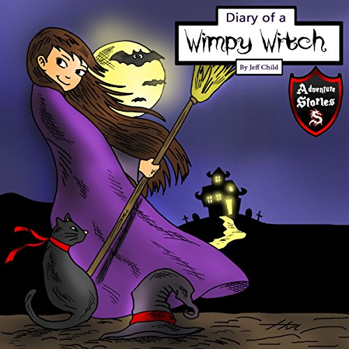 Diary of a Wimpy Witch audiobook cover art